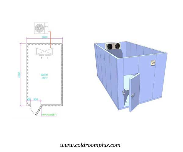 product development of cold storage room