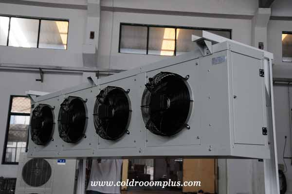 typical unit coolers with four fans