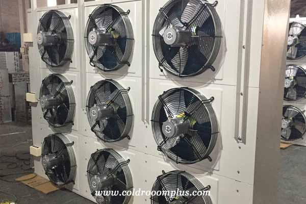 typical unit coolers with nine fans