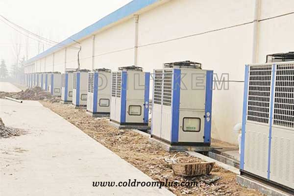 vertical outdoor condensing unit case