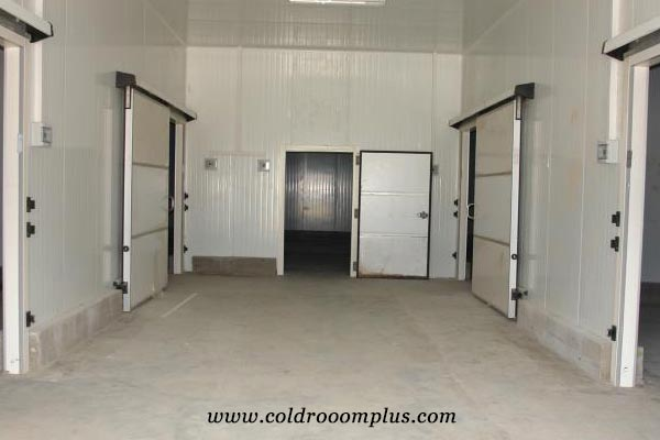 cold room sliding door for cold storage room