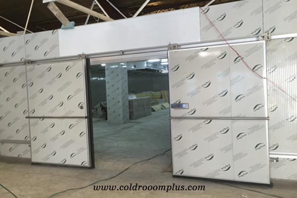 double sliding door for cold room