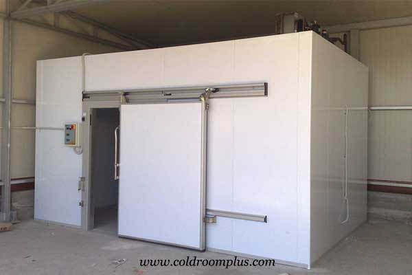 cold room sliding door of freezer room for ice scream
