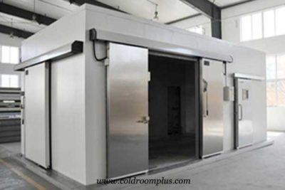 freezer room for meat storage