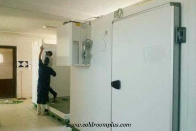 freezer room installation