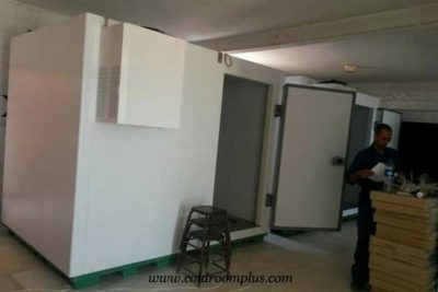 freezer room site installation