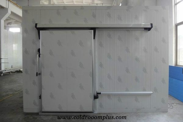single leaf sliding door for cold room