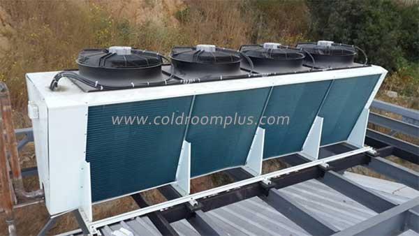 evaporative air cooled condenser