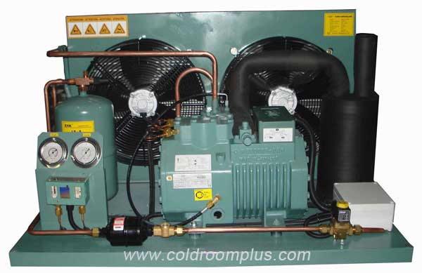 Bitzer compressor condensing unit for mini cold room