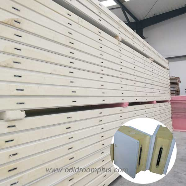 PU sandwich panel for commercial freezer room