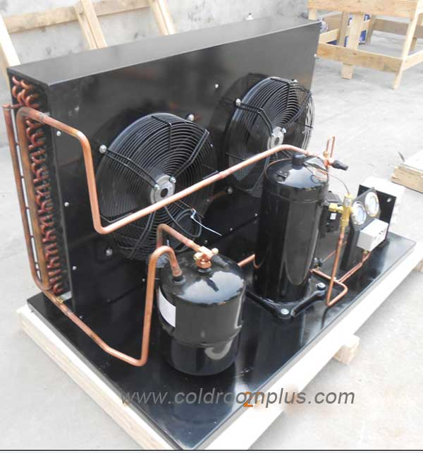 commercial freezer room condensing unit