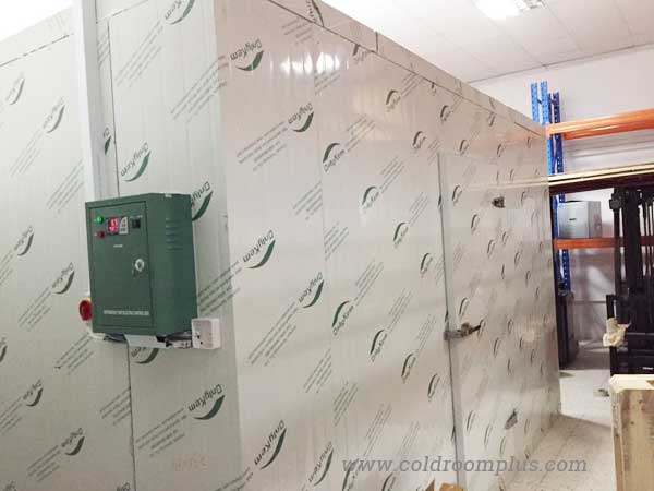 Modular freezer room