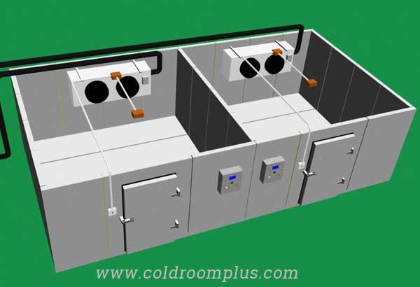 cold storage room for fruit