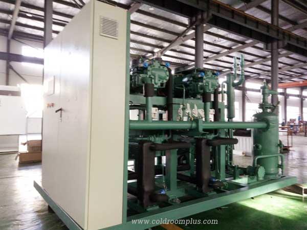 Parallel system of Bitzer compressor unit
