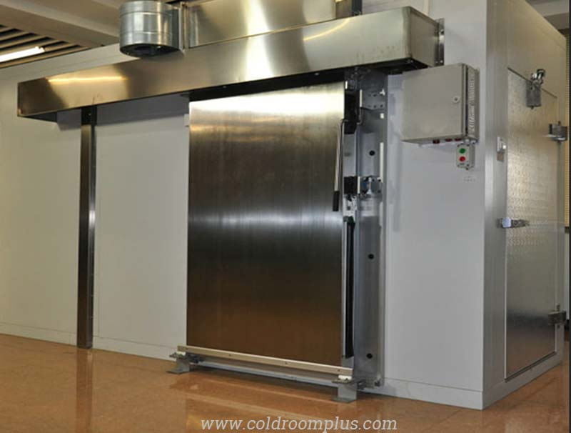 Stainless steel sliding door