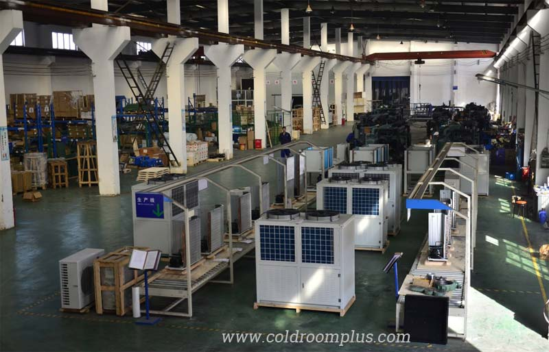 fruit cold storage Condensing unit in factory