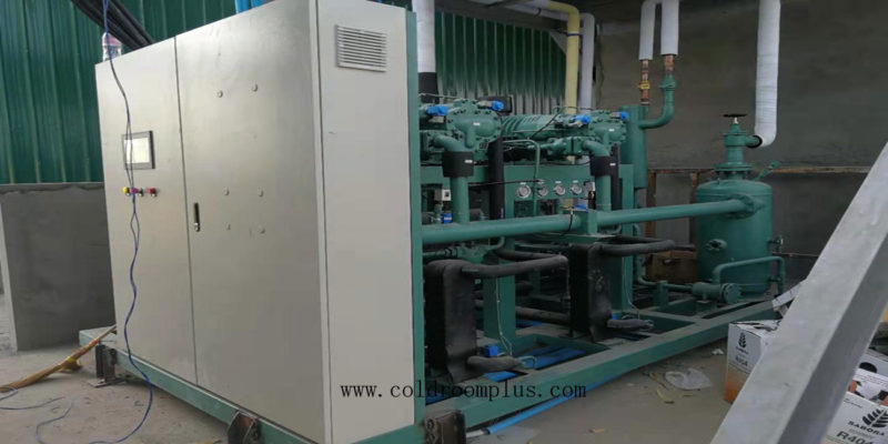 Logistics Cold Storage - Cold Storage Room, Condensing unit